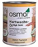 Osmo Hartwachs-Öl Original 3032 Farblos seidenmatt - 2,5 Liter