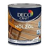 Deco Craft Holzöl Pflegeöl Öl für Holz für Außenbereich (Dunkel)